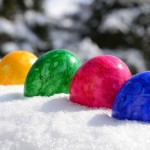 frozen easter eggs