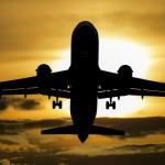 aeroplane in sky