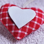 Love heart valentine craft