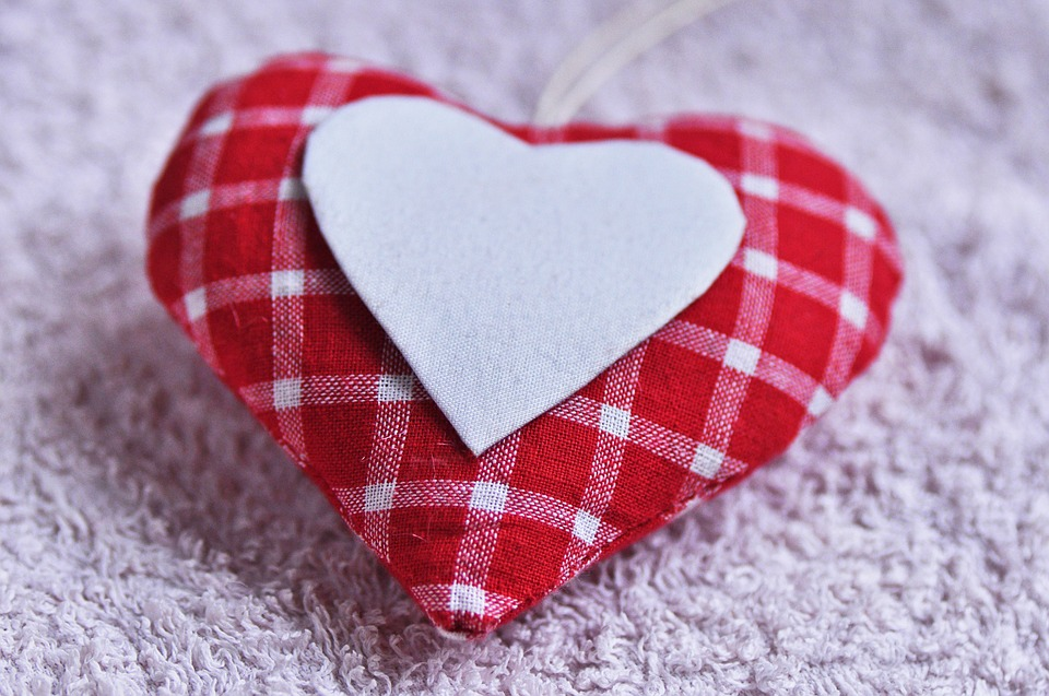 Love heart craft