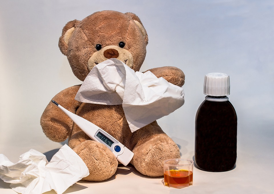Poorly teddy